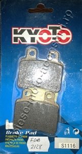 Picture of Placute frana moto FDB2128 - KYOTO S1116