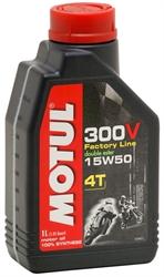 Picture of Motul - 300V 4T Factory Line 15W50 Motul - 300V 4T Factory Line 15W50 - 1L