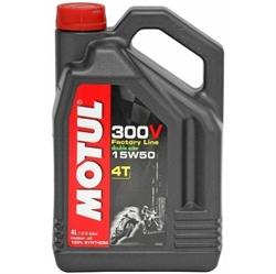 Picture of Motul - 300V 4T Factory Line 15W50 Motul - 300V 4T Factory Line 15W50 - 4L