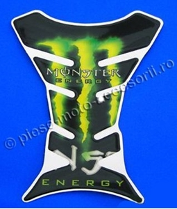 "Picture of Tank pad moto ""Monster Energy"""